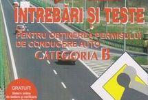 LEGISLAȚIE RUTIERĂ / Cărți pentru obținerea permisului de conducere audo. Noutăți de legislație rutieră.