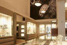 Jeweler shop / Interior designed by BARTOSZEK&BARTOSZEK DESIGN TILBURG,  for a jeweler shop in The Netherlands