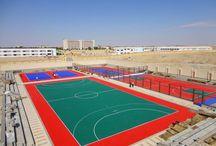 Athletic field football