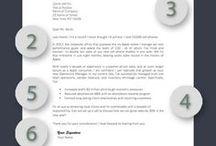 CV, Cover letter, Interview