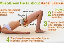 Kegel exercise, Regular sex & Use of simple clean water keeps vagina healthy