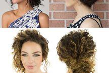 penteados cabelos cacheados
