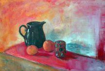 Paintings by Kamila Guzal-Pośrednik / I show here my oil pictures.