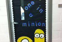 7th Grade Classroom: Despicable Me Theme