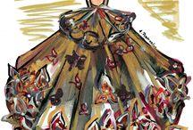 my fashion illustrations/ moje ilustracje mody / my art work: fashion illustrations