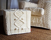 Knit furniture / why not knit or crochet a whole piece of furniture? / by Lorna Watt