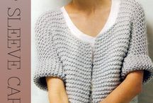 crochet and knitting projects