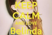 <3 Keep calm: Belinda Peregrín <3 / Este tablero lo he creado para tener todos los Keep calms de Belinda Peregrín :)