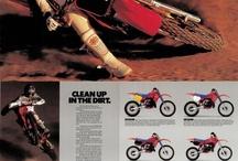 Honda Motocross Bikes / Collection of Honda Motocross Bikes