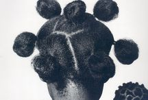 Hair of Me / Project photographing African Fulani hair styles