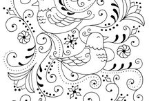Quilting/Embroidery/Colouring