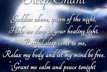 sleeping prayers