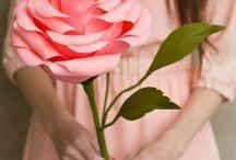kağıt çiçek sanatı