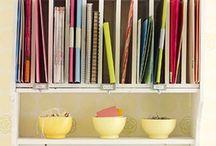 Craft storage/ rooms / by Ellen Davis
