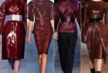 TryThisTrend: Oxblood / One of my personal favourite trends this season. Whether you choose oxblood, burgundy, deep rust, or bordeaux, there's a super deep red for everyone.