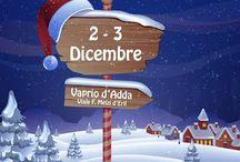 Il Villaggio di Babbo Natale 1-2 dicembre Vaprio d'Adda (MI)