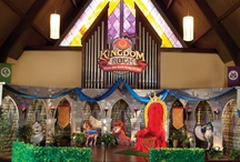 iKidmin:Castle Decor / Decorating Ideas for VBS 2013 Kingdom Rock or anytime a Medieval Theme is needed!