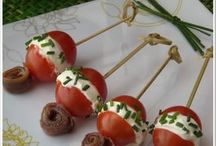 aperitivos con tomate cherry