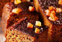 Cake sticky gingerbreaf