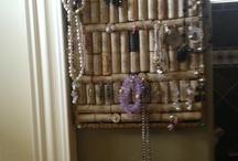 jewelry cork board / by Dawn Ruble