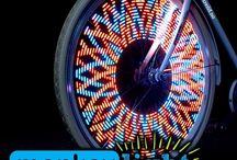 Sykkelhjul - Led lys til sykkelhjulet ditt.