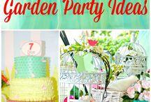 garden themed birthday