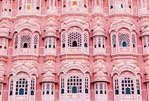Pink Places / Be inspired by these picturesque pink places!