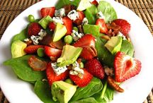 Salad Recipes / Fresh and healthy salad recipes including side salad recipes and entree salad recipes.  / by Iowa Girl Eats
