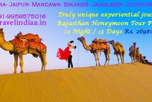 Rajasthan Honeymoon tour / its truly unique experiential journeys