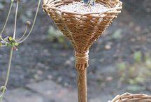 Kert - madáretető