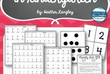 Teaching: math: kindergarten