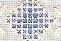 Hardangersøm // Hardanger embroidery