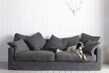 sofa, stool & chairs
