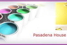 Pasadena House Paint Ca