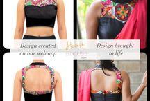 Back neck designs