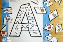 yazdirilabilir alfabe