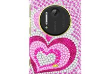 Nokia Lumia 1020 - Full Rhinestones Hard Cover Case / Sparkling hard case covers will protect your Nokia Lumia 1020 and make your phone more attractive with a lot of unique designs!!! Come to us and make your phone more sassy!!!