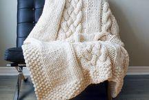 Mantas gigantes tricot