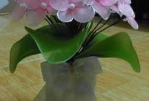 flori din nylon
