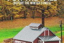 Homesteading by the season