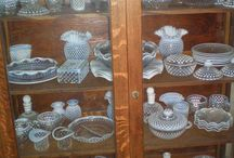Hobnail / Vintage glassware / by gina wallace