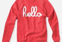 HELLO apparel  / by Jessica Shyba