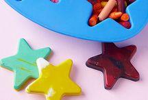 Kids- Preschool Craft Ideas / by Kristin Savko