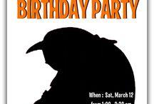 Birthday party / by Jennifer Springer