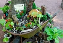 Fairy Gardens / Have you ever seen a fairy garden? They are a combination of a miniature garden and a doll house. Fairy gardens are hours of fun for the entire family. I hope these ideas get you inspired to make your own. / by Creative Homemaking