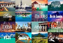 One day i'm gonna travel the world <3