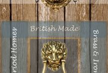 The Door Knocker Company / The Door Knocker Company sells British Made Brass and Ironware for Period and modern homes. Period fixtures for Modern Style.
