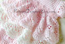 ベイビードレス 編み図