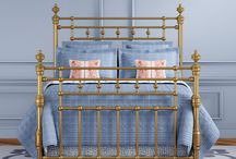 Brass, nickel and chrome beds