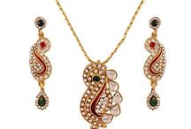 Elegant Traditional Kundan Pendant Jewelry